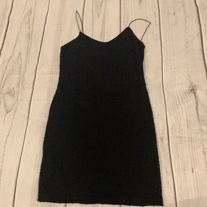 Forever 21 Black Lace Dress Size Small